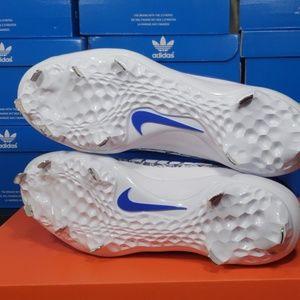 Nike Shoes - Nike  Air Trout 4 Pro Blue Baseball Cleat Sz 10-12